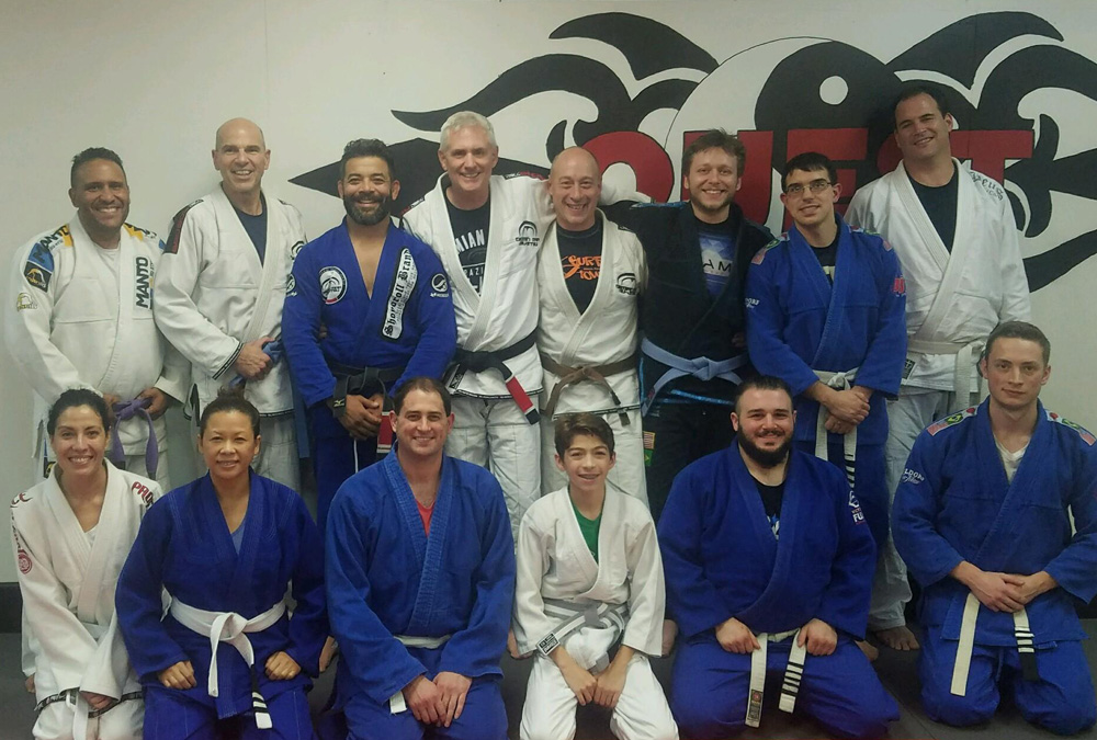 Quest hosted a Demian Maia Seminar