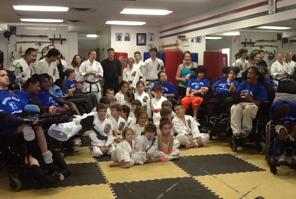 Matheny Karate Student's visit Quest